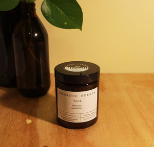 Nomadic Scents - #006 - Green Tea / Coconut / Fresh Basil - 150ml Candle