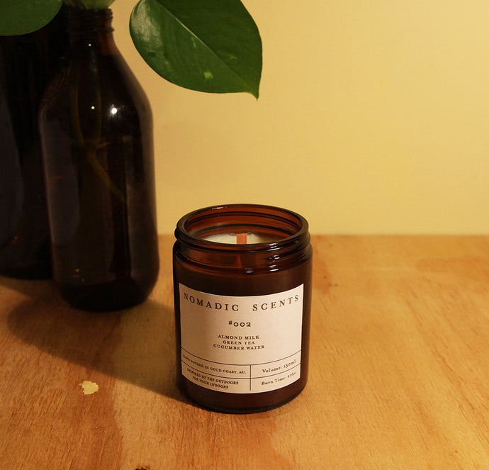 Nomadic Scents - #002 - Almond Milk / Green Tea / Cucumber Water - 150ml Candle