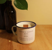 Load image into Gallery viewer, Nomadic Scents - #004 - Patchouli / Sandalwood / Fresh Basil - 300ml Candle