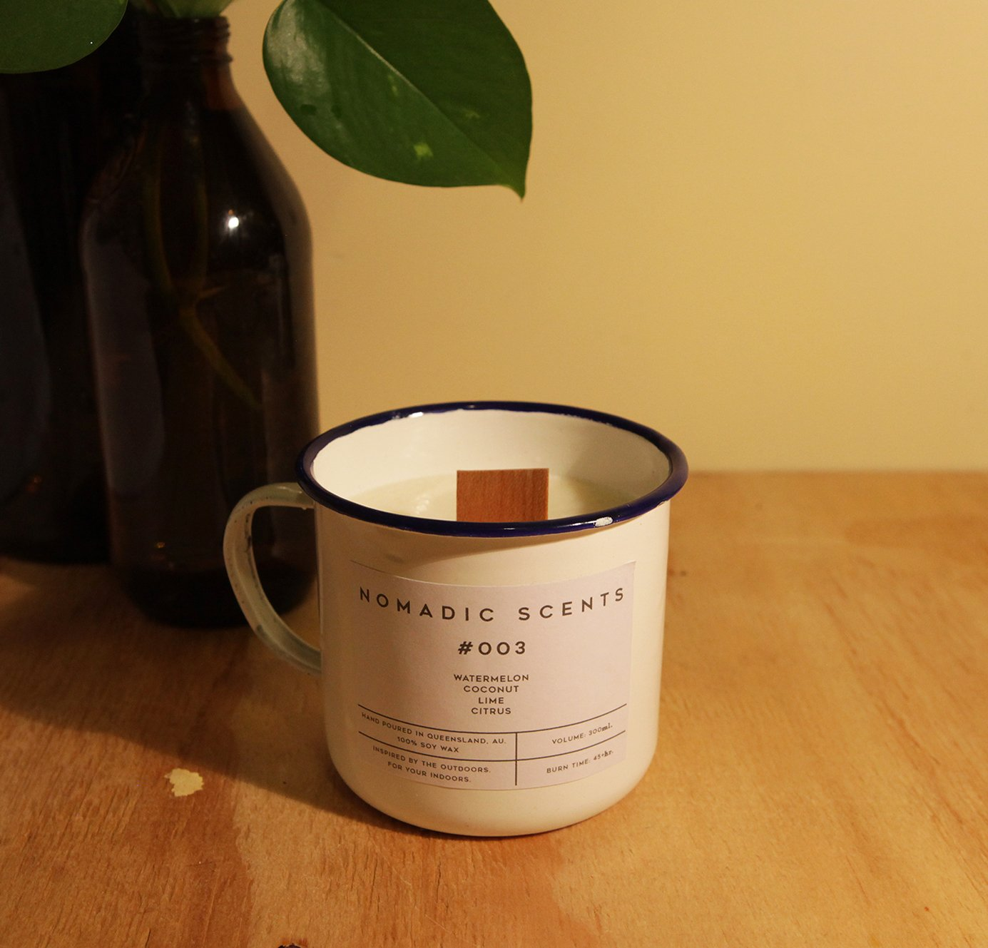 Nomadic Scents - #003 - Watermelon / Coconut / Lime / Citrus - 300ml Candle