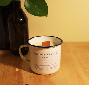 Nomadic Scents - #007 - Caramel / Sea Salt / Coffee - 300ml Candle