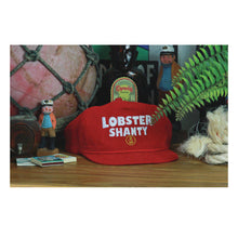 Load image into Gallery viewer, Lobster Shanty Anchor Red Cap