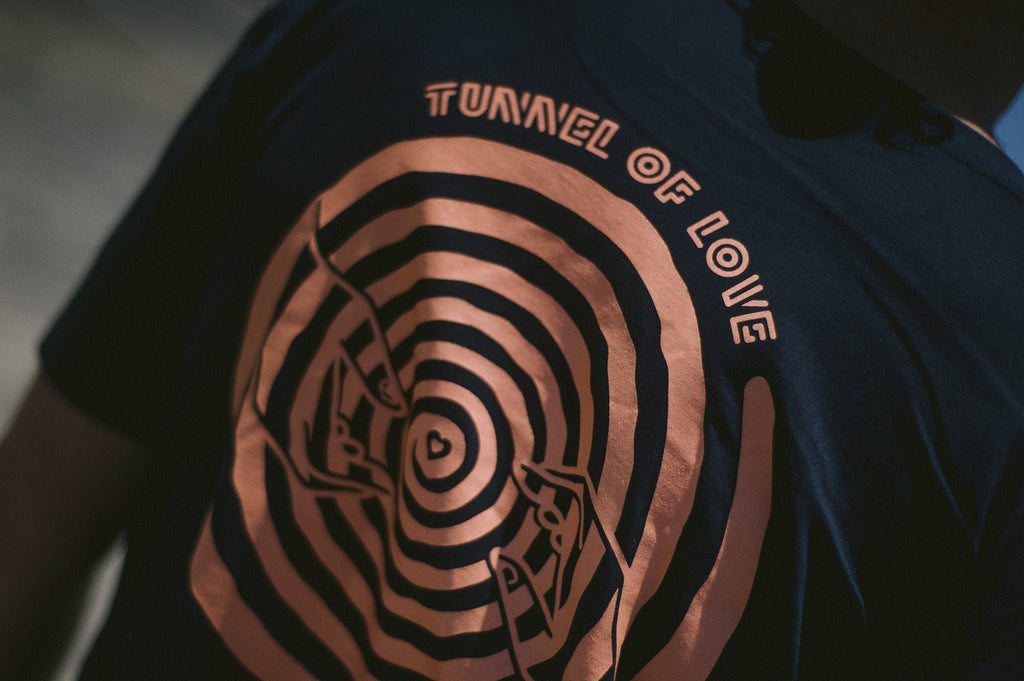 Stale Brand 'Tunnel of Love - Navy' Tee