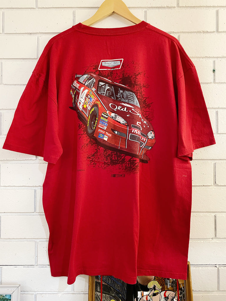 Preloved Nascar Tony Stewart Haas Red Tee - 2XLarge