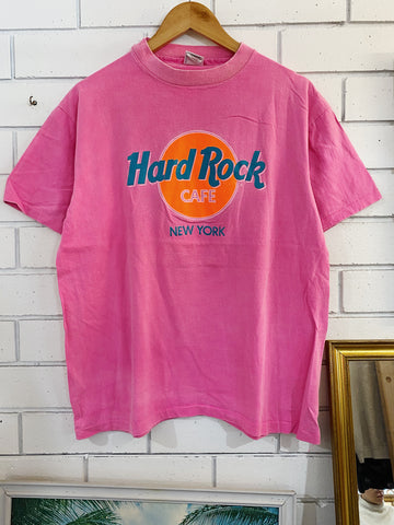 Vintage Tourist - Hard Rock New York Pink Tee - Medium