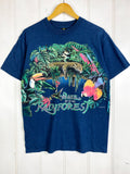 Vintage Animals - Wake Up Navy Tee - Medium