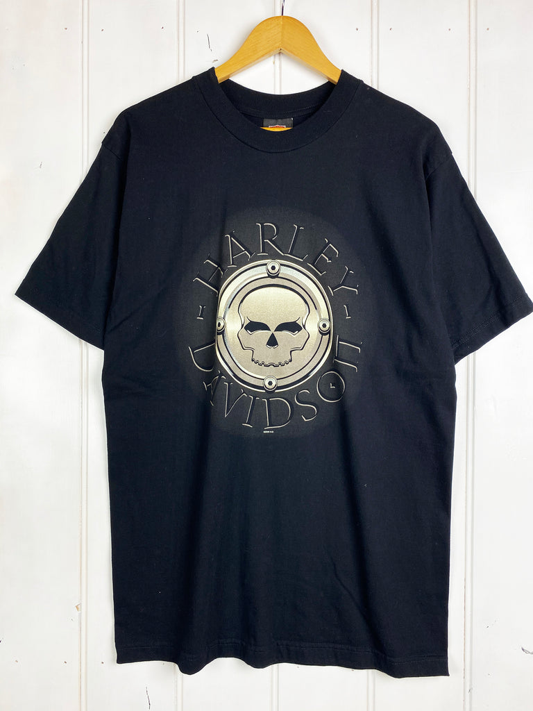 Preloved Harley - Renegade Black Tee - Large