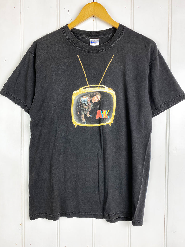 Vintage Pop Culture - Al TV Black Tee - Medium