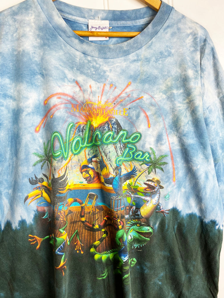 Vintage Pop Culture - Jimmy Buffet Volcano Bar Tee - XLarge