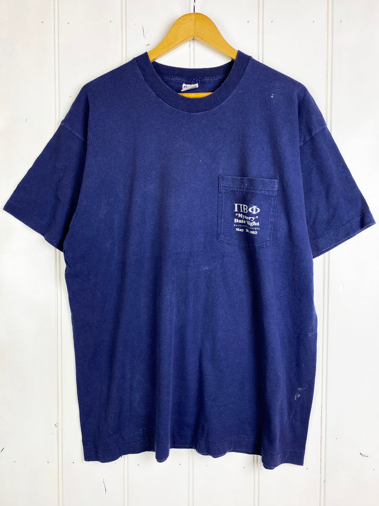 Vintage Pop Culture - Mystery Date Navy Tee - XLarge