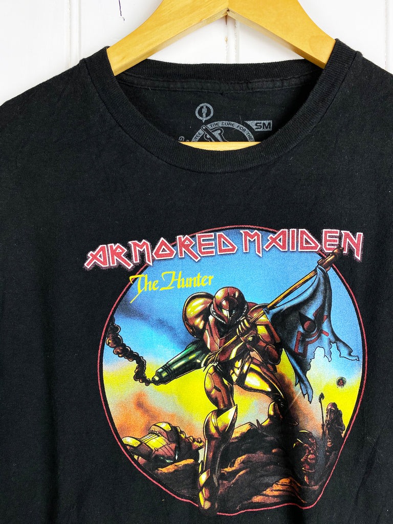 Preloved Pop Culture - Iron Maiden Black Tee - Small