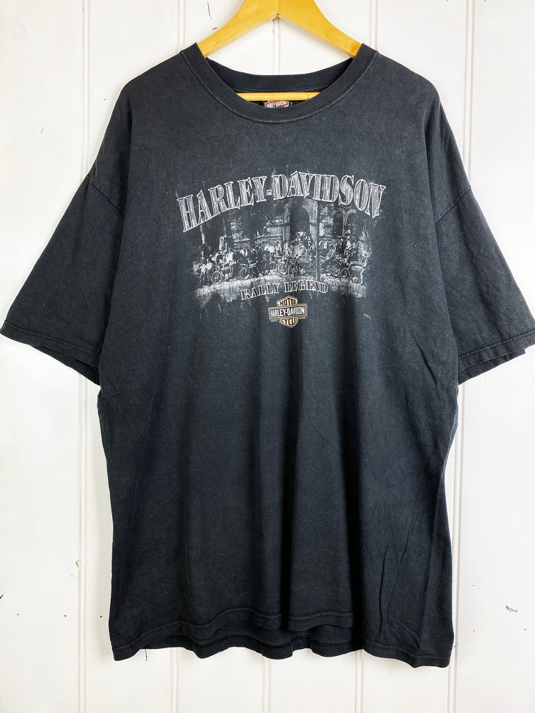 Preloved Harley - Buffalo Black Tee - 2XLarge