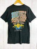 Vintage Bike - Rockhills Saloon Black Tee - Medium