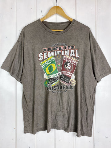 Preloved Sports- Rosebowl Semifinal Grey Tee - 2XLarge