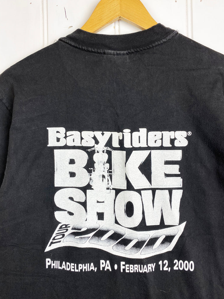 Vintage Bike - Easy Riders Black Tee - Medium