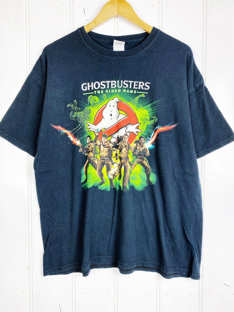 Vintage Pop Culture - Ghostbusters Black Tee - XLarge