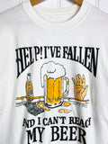 Vintage Pop Culture - Fallen White Tee - Large