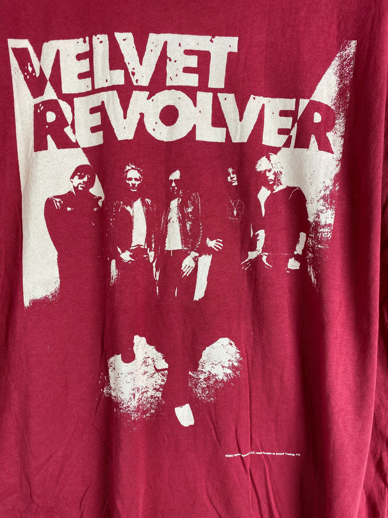Vintage Music - Velvet Revolver Red Tee - Large