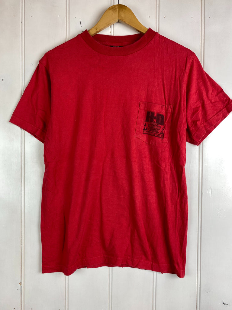 Vintage Harley - 2002 Orlando Red Tee - Medium