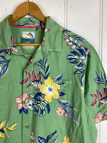 Vintage Party Shirt - Tommy Shirt - Large