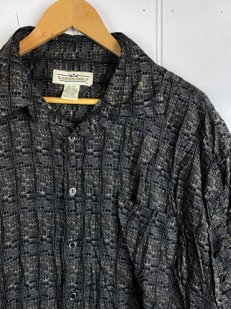 Vintage Party Shirt - Natural Shirt - XLarge