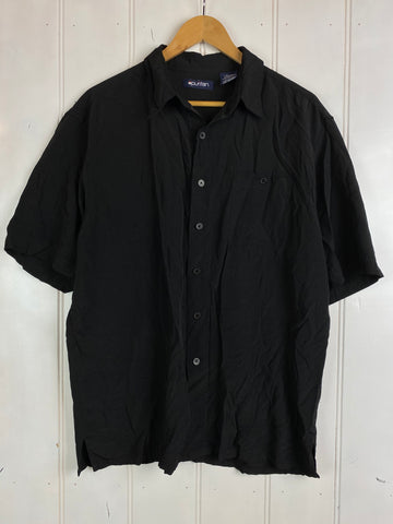 Vintage Party Shirt - Blackout Shirt - Large