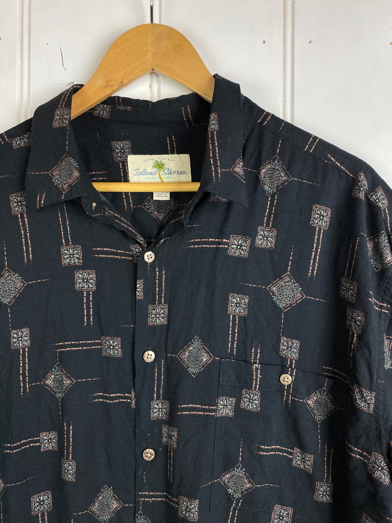 Vintage Party Shirt - Island Shores Shirt - XLarge