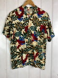Vintage Party Shirt - Hawaiian Original Shirt - Medium