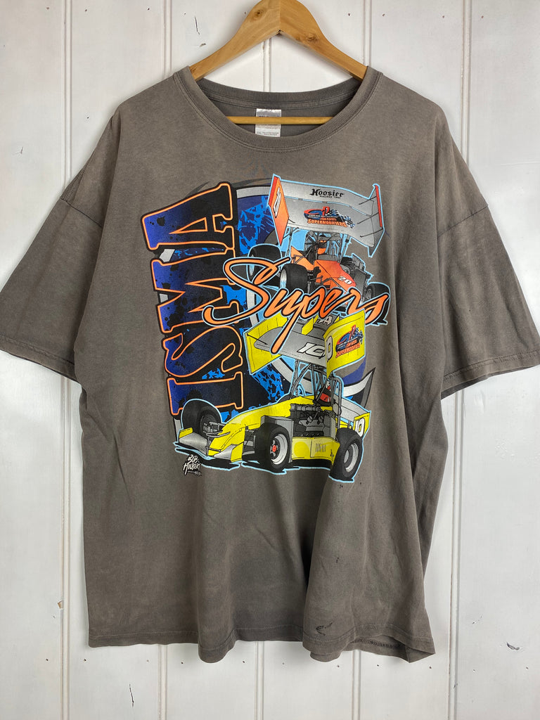 Vintage Racing - ISMA Supers Grey Tee - 2XLarge