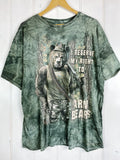 Preloved Animals - Armed Bears Green Tee - 2XLarge