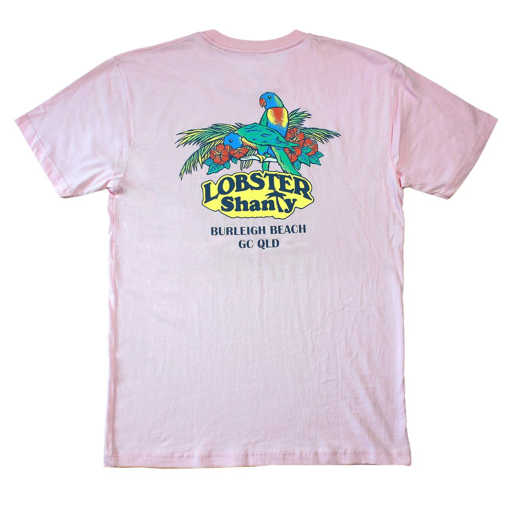 Lobster Shanty - Sanctuary Pink Tee