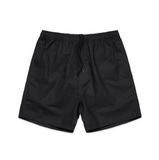 All Day Cotton Beach Short - Black