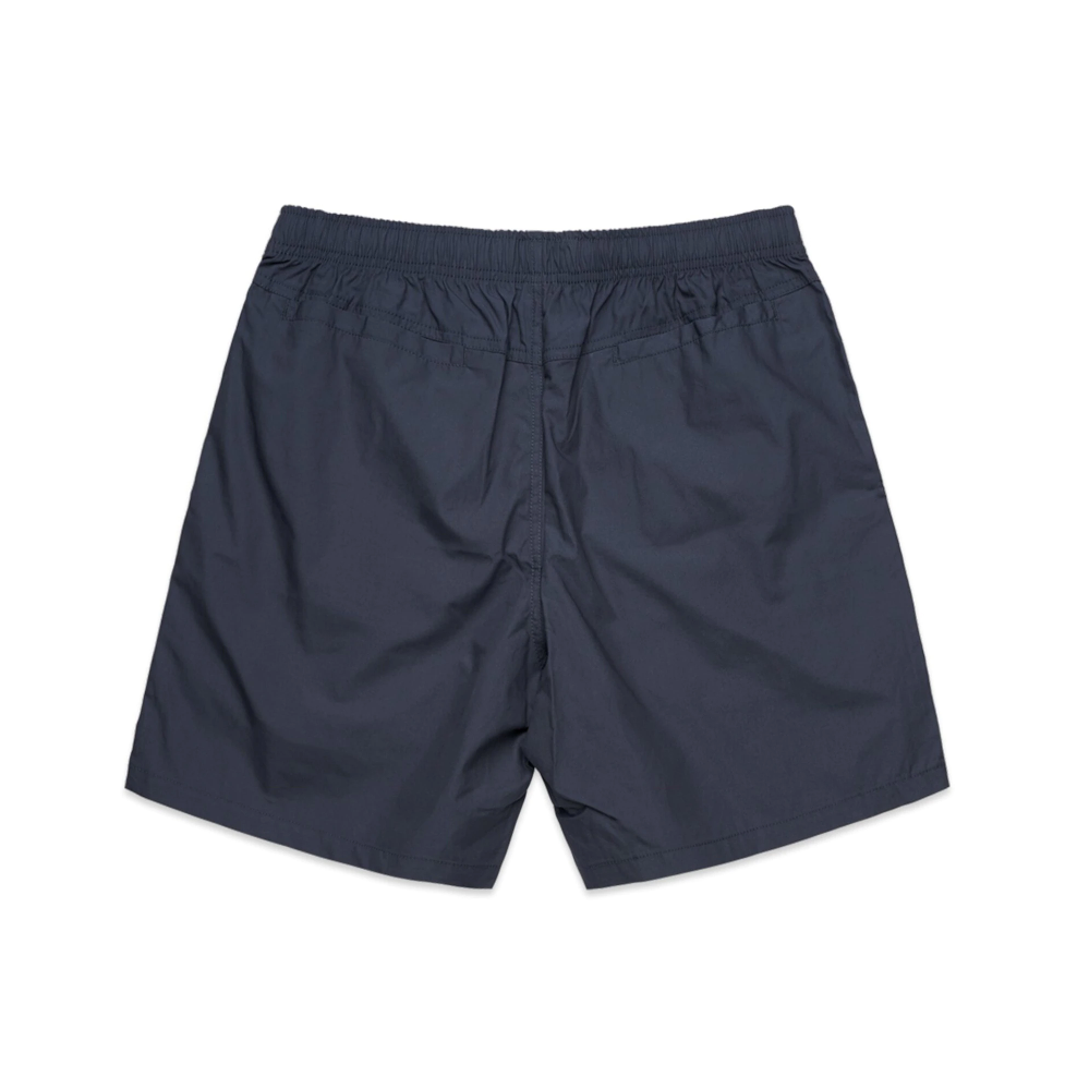 All Day Cotton Beach Short - Petrol Blue