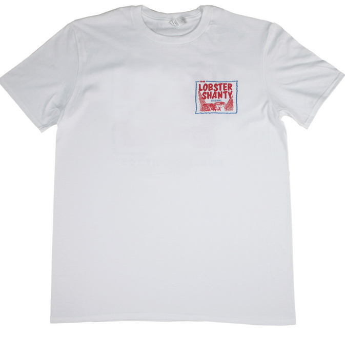 Lobster Shanty - Lobster Shanty 'Classic Logo' Tee - T-Shirt - Stock & Supply Stores