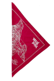 West Texas - West Texas 'State Map' Bandana - Accessories - Stock & Supply Stores