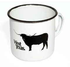 West Texas - West Texas 'Campfire' Tin Mug - Accessories - Stock & Supply Stores