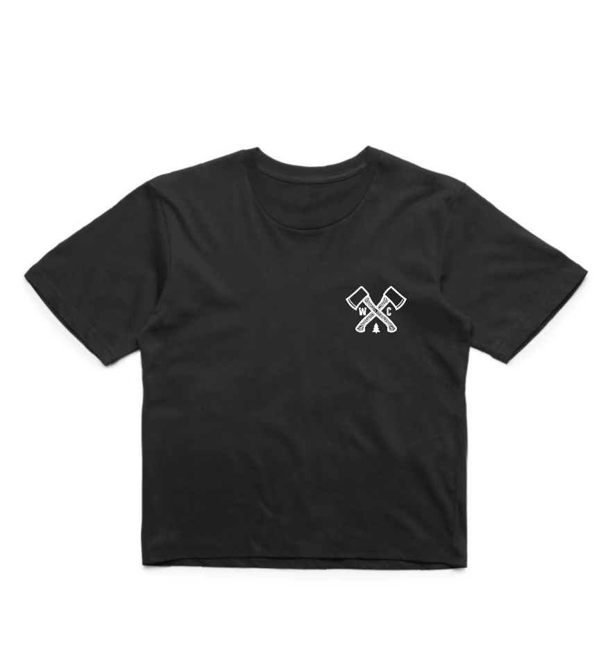 Outdoor Society Crop - Black