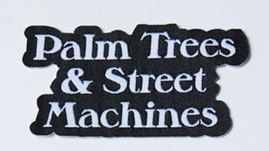Thrills Palm Trees & Street Machines Patch