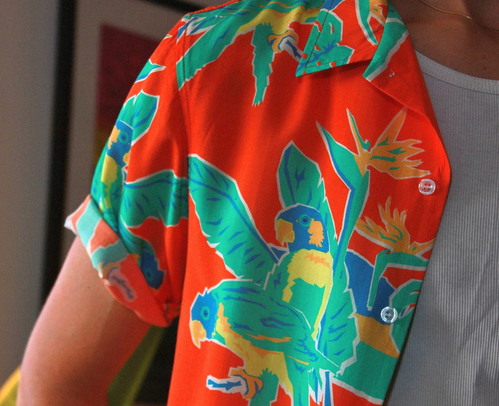 Lobster Shanty - Local Paradise - Rayon Hawaiian Shirt