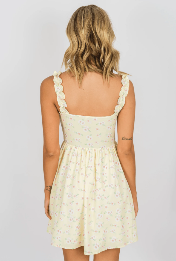 Summer Rain Mini Dress