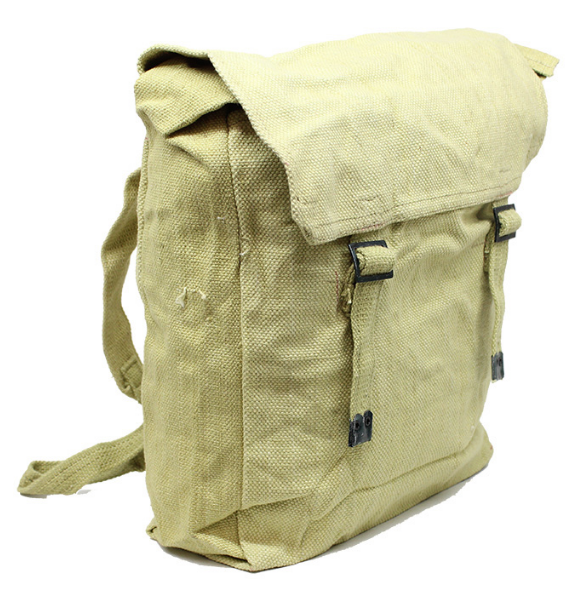 Deadstock Haversack Backpack - Khaki