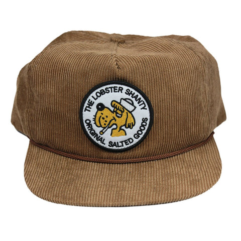 Sea Dog Brown Corduroy Cap