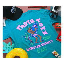 Load image into Gallery viewer, Lobster Shanty 'Froth Town' Tee