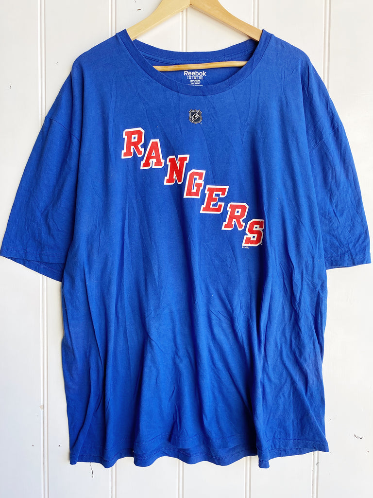 Preloved Sports - Reebok New York Rangers Blue Tee - 2XLarge