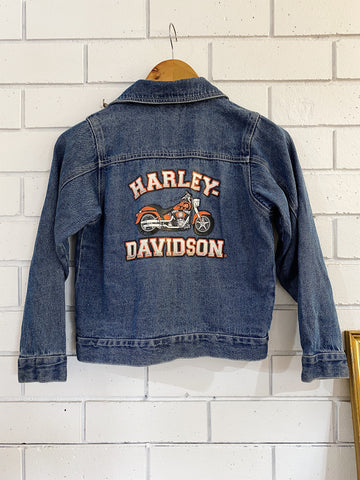 Preloved Harley Kid's Denim Jacket