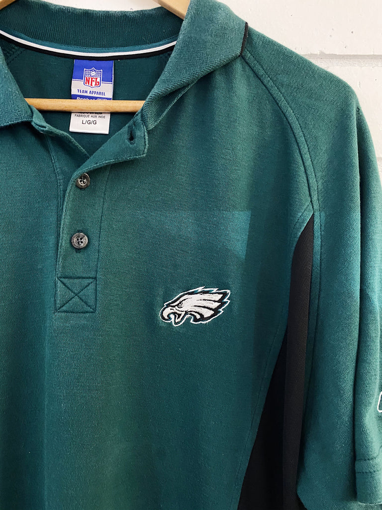 Preloved Sports - Philadelphia Eagles Polo Teal Polo - Large
