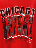 Vintage Sports - Chicago Bulls Team Red Tee - XLarge