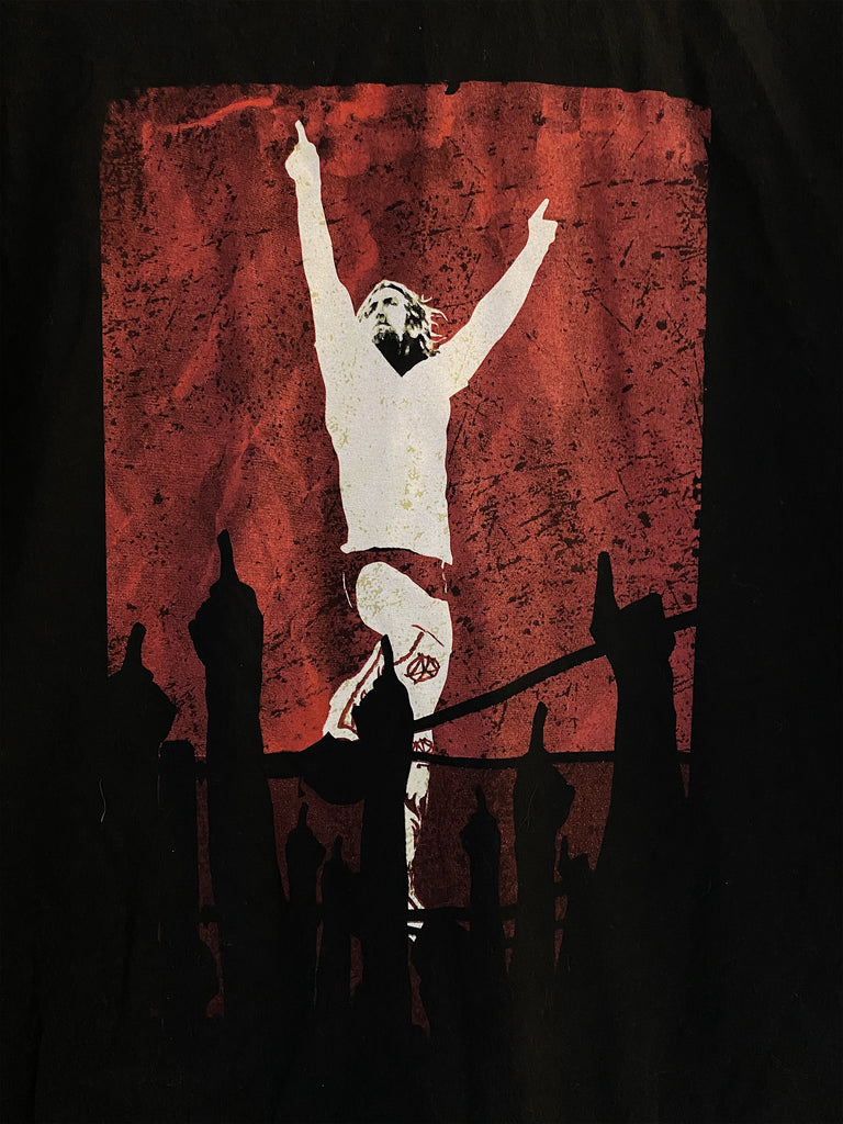 Preloved Wrestling - Daniel Bryan Black Tee - Medium