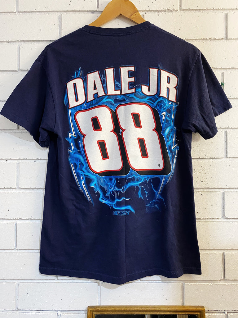 Vintage Nascar - Dale Jr National Navy Tee - Medium