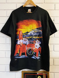 Vintage Nascar - King of Black Black Tee - Large